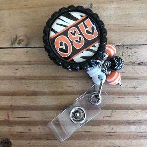 Jewelry - Badge Holder OSU 💥2 or more is BOGO 1/2 off💥